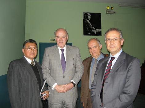 Jaime Palacios , Jose Antonio Garcia Belaunde, Dino Cofrancesco, Renato Poma