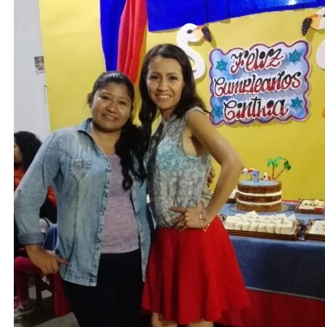 cumpleaños con Lucia